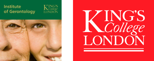 KCL and Institute of Gerontology Logos